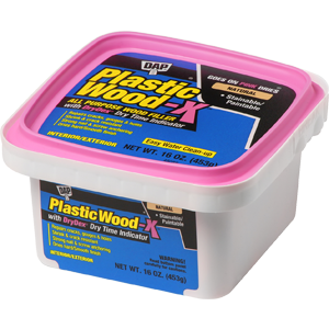 Dap 00542 Pt Stainable Natural Plastic Wood-X w/ Drydex 160z