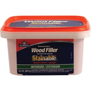 Elmers E892 Qt Carpenter Int/Ext Stainable Wood Filler
