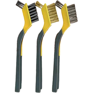 Allway Tools 137106 AMB Mini Brush Set Soft Grip Clip Strip (3pack)