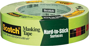3M 2060 Green Scotch Hard-to-Stick Surfaces Tape