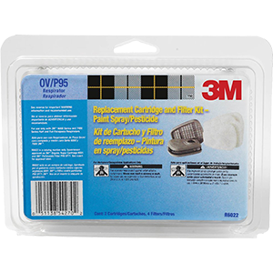 3M R6022 Cartridge Prefilter Combo Fits 6000 & 7500 Series