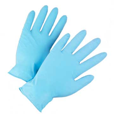 West Chester 2905 Posishield Blue Nitrile Powder Free Glove 100Pk
