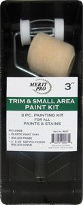 "Merit Pro 00587 3"" Trim & Small Area Paint Kit"