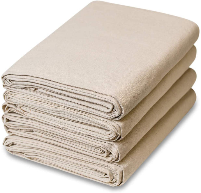 4' x 15' 8 oz. Medium Weight Canvas Drop Cloth (4 PACK)