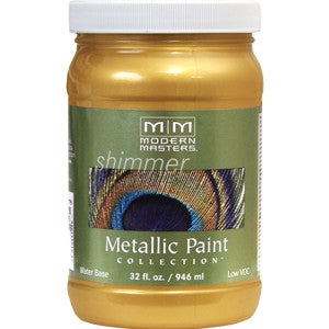 Modern Masters ME200 Qt Pale Gold Metallic Paint