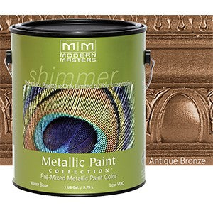 Modern Masters ME204 1G Antique Bronze Metallic Paint