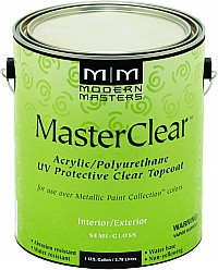 Modern Masters ME662 1G Semi Gloss Master Clear Metallic Topcoat