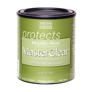 Modern Masters ME662 Qt Semi Gloss Master Clear Metallic Topcoat