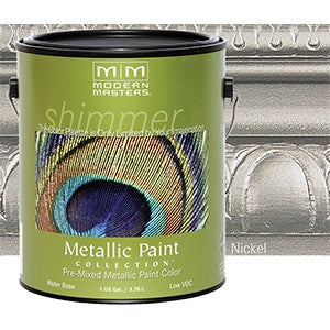Modern Masters ME708 1G Nickel Metallic Paint