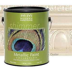 Modern Masters ME705 1G Oyster Metallic Paint