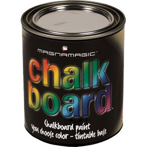 Associated Paint MAGCHBPT-4 Tintable Chalkboard Paint Quart