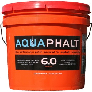 Aquaphalt 6.0 3.5G Black Permanent Asphalt Repair