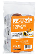 Load image into Gallery viewer, RE-U-ZIP - Mounting Strips 12 Pack