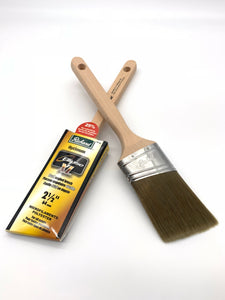 "RICHARD OPTIMUM ELLIPSE XL 2-1/2"" OVAL ANGLED PAINT BRUSH 80768"