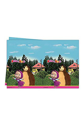 Masha and The Bear Table Cover