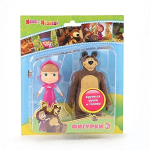 Masha and the Bear Medved , doll Masha Bear toys figures