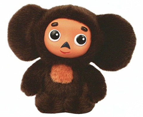 Cheburashka Soft Stuffed Russian Toy Classic 5.5 inch (14cm)