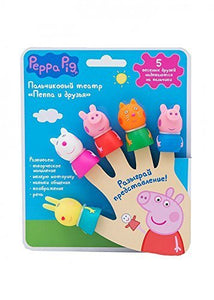 Peppa_Pig Finger Puppets Theatre Set of 5