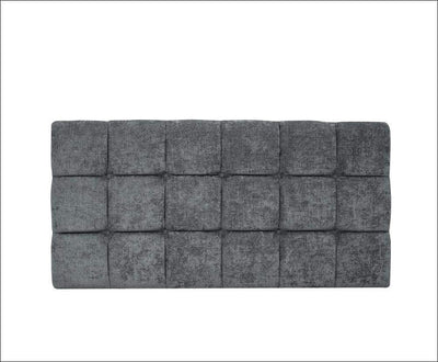 "SnoozeSleep 2ft 6"" / Diamond Cube design 24"" Headboard Collection"
