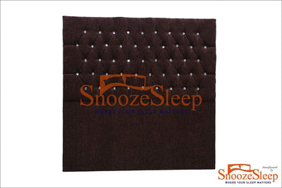 "SnoozeSleep 3ft / Diamond Chesterfield 54"" Floor Standing Headboard"