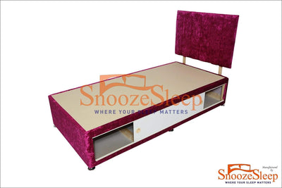 SnoozeSleep Divan Base 3ft Divan Base – Slider Storage