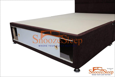SnoozeSleep Divan Base 3ft Royal Super Orthopaedic Divan SET