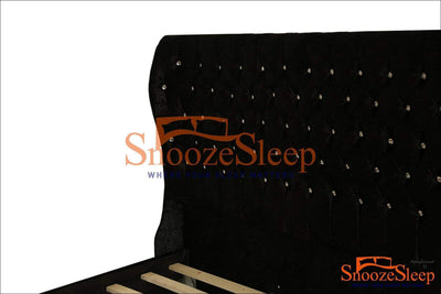 SnoozeSleep Sleigh Bed Custom Oxford Sleigh Bed Frame