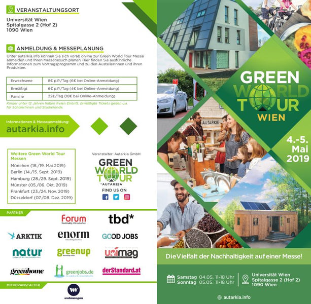 Green World Tour 04. und 05.05.2019