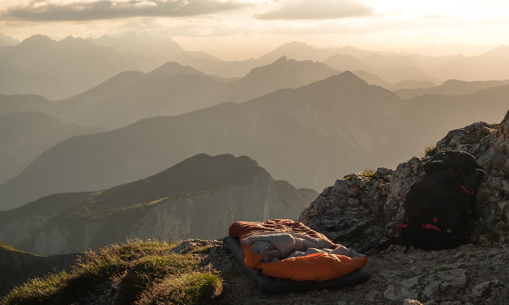 Sleeping Bag Sunset