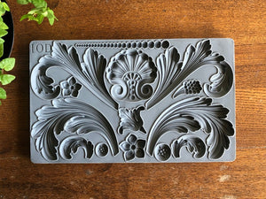 "Acanthus Scroll Decor Mould, 6"" x 10"""