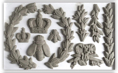 Iron Orchid Designs, Laurel Mould, mold