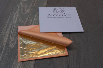 Autentico Metal Leaf, 25 leaves to a pack
