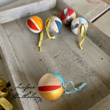 Load image into Gallery viewer, DIY Painted Wood Ornaments, Kit and Digital Workshop