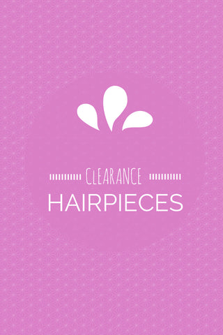Clearance Hairpieces