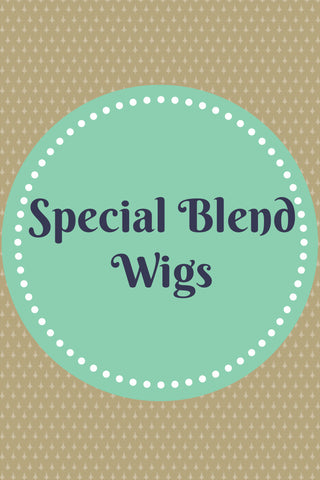 Human Hair Special Blend Wigs