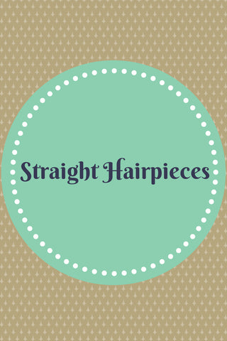 Straight Hairpieces