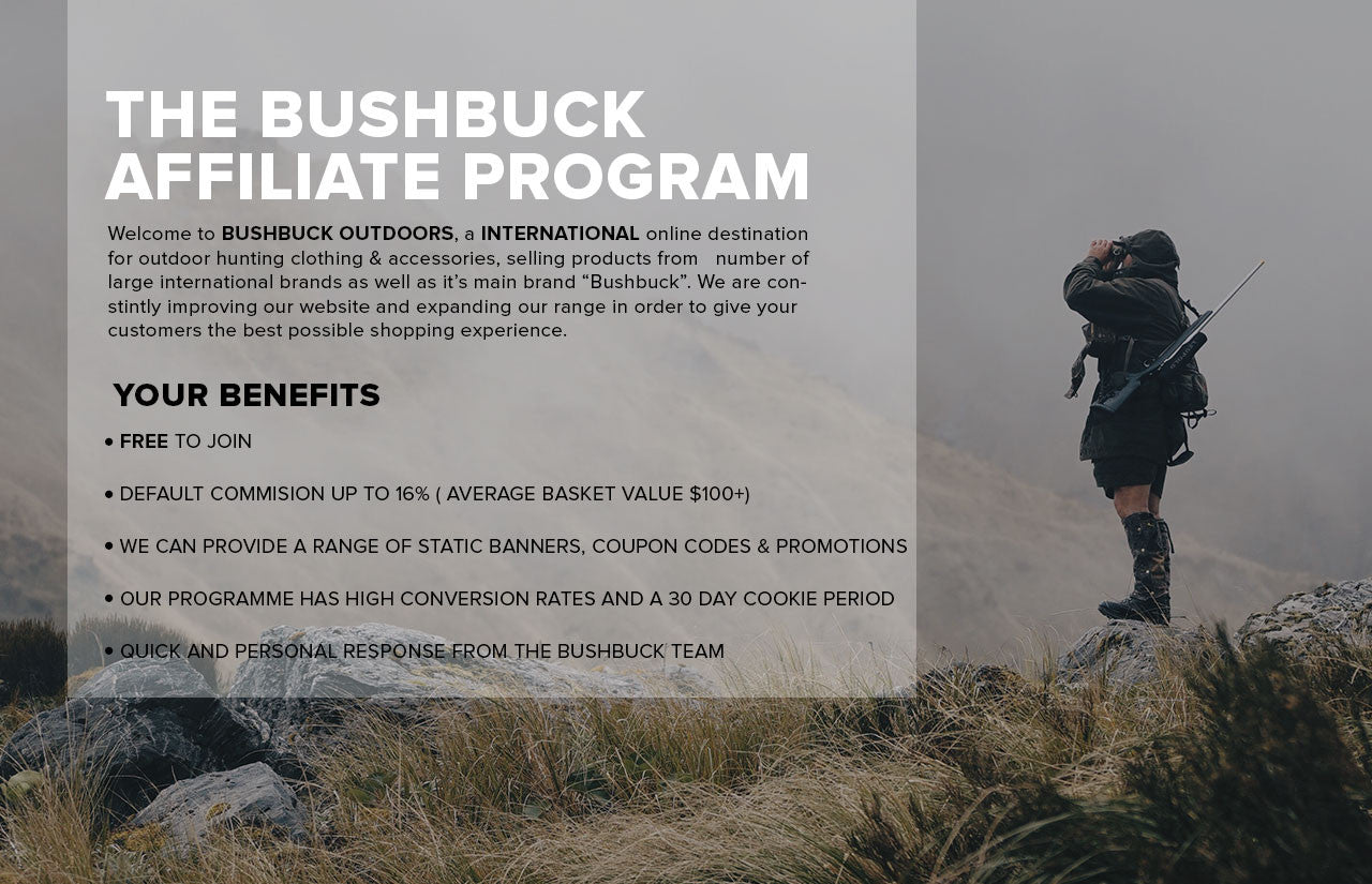Bushbuck Affiliate Program