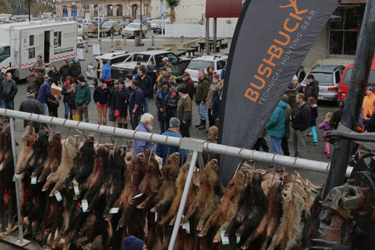 THE 2015 NORTH OTAGO BOAR '' STAG MUSTER