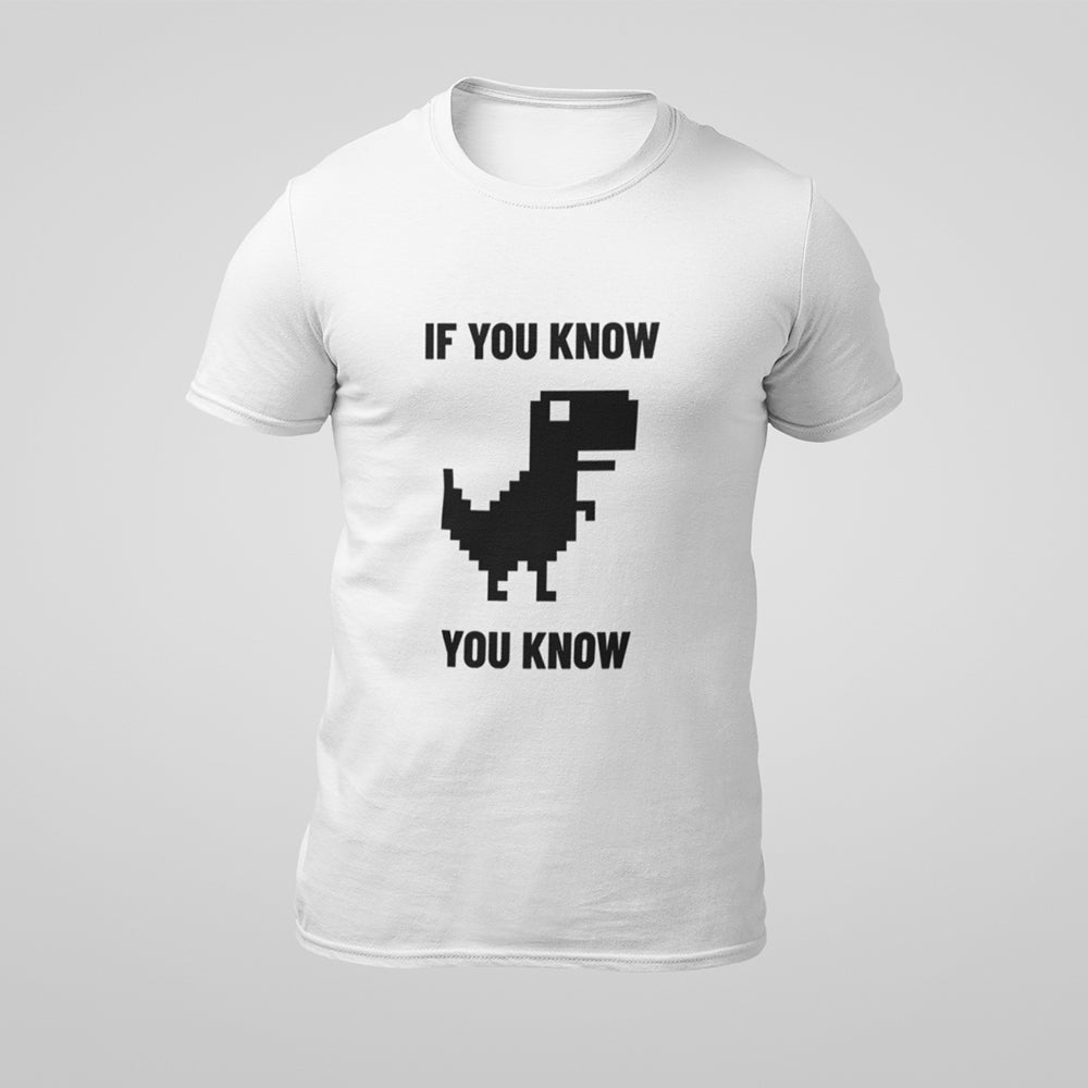If You Know Google Dino Men's T-shirt