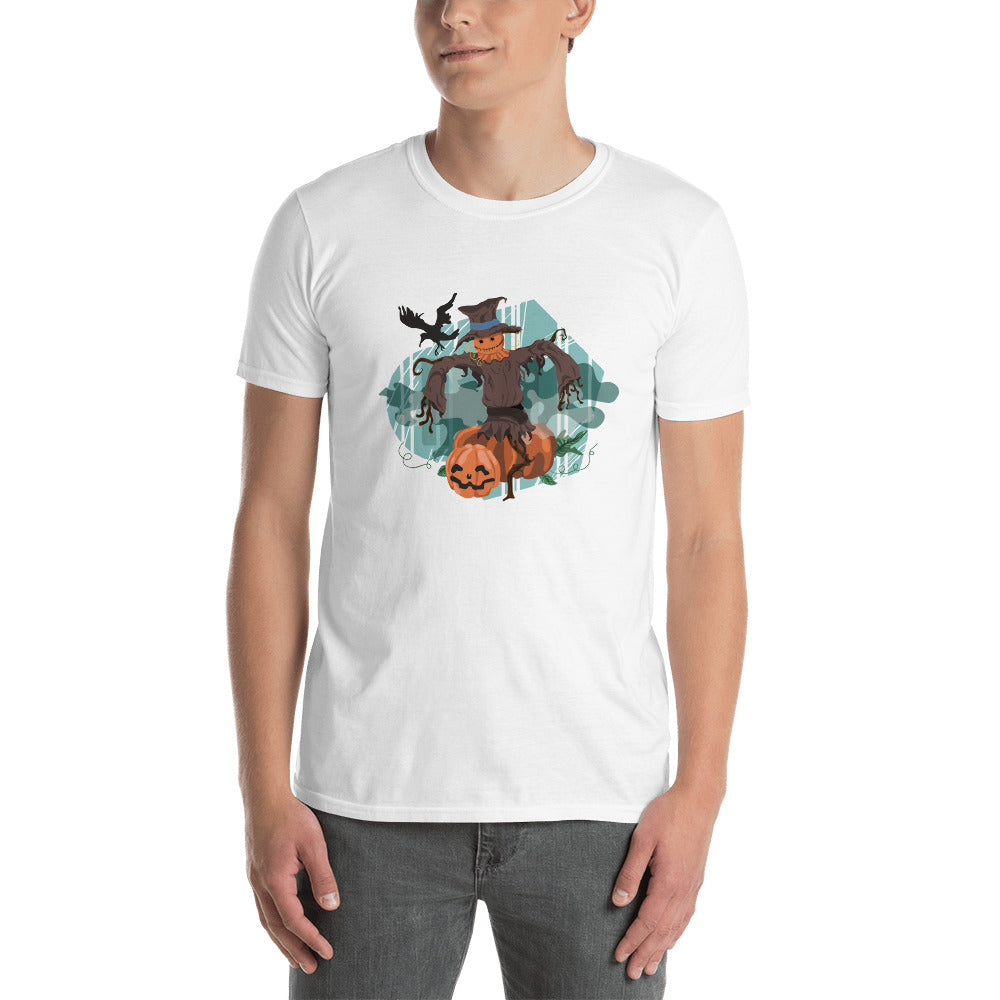 'Pumpkin Scarecrow' Men's T-shirt