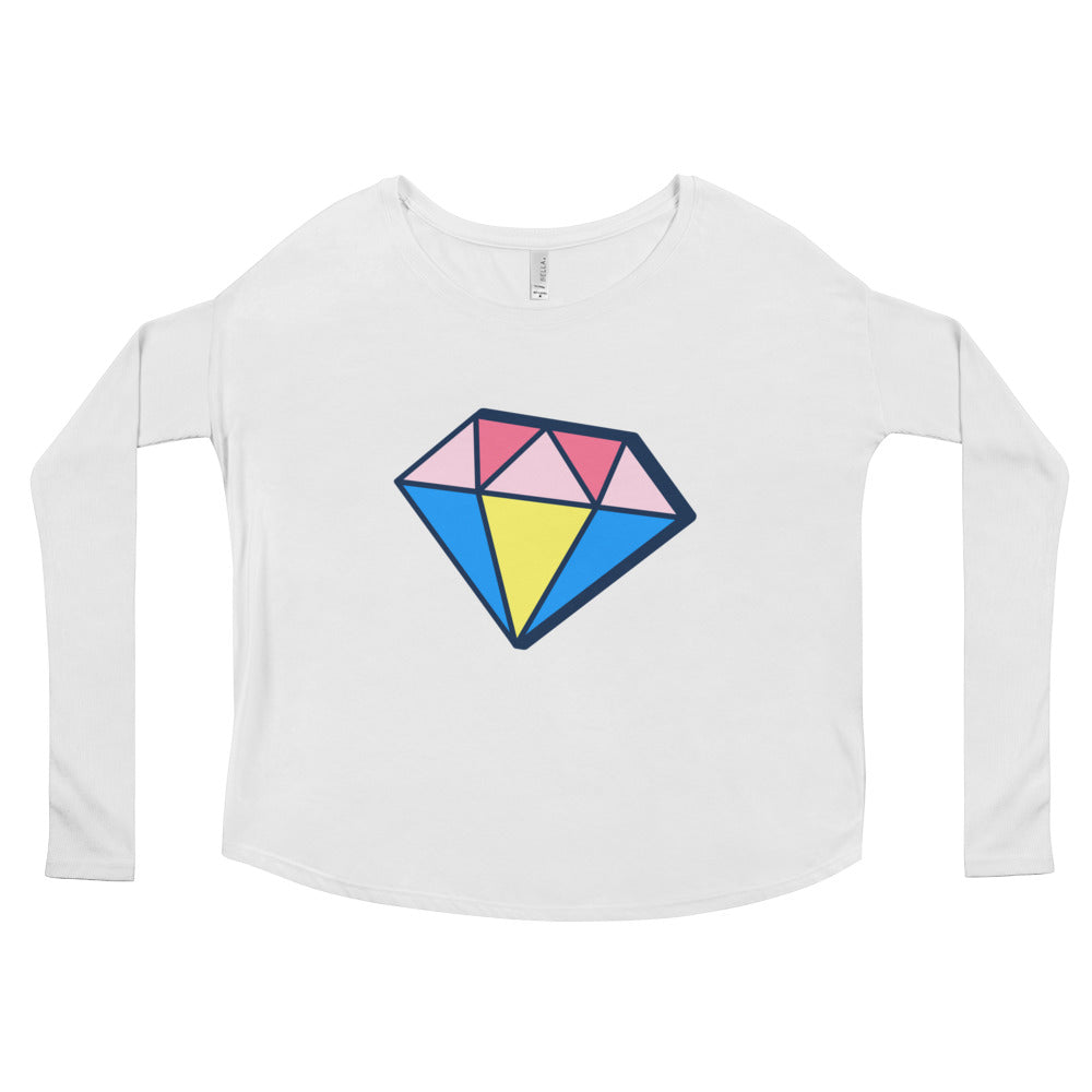 'Diamond' Long Sleeve T-shirt