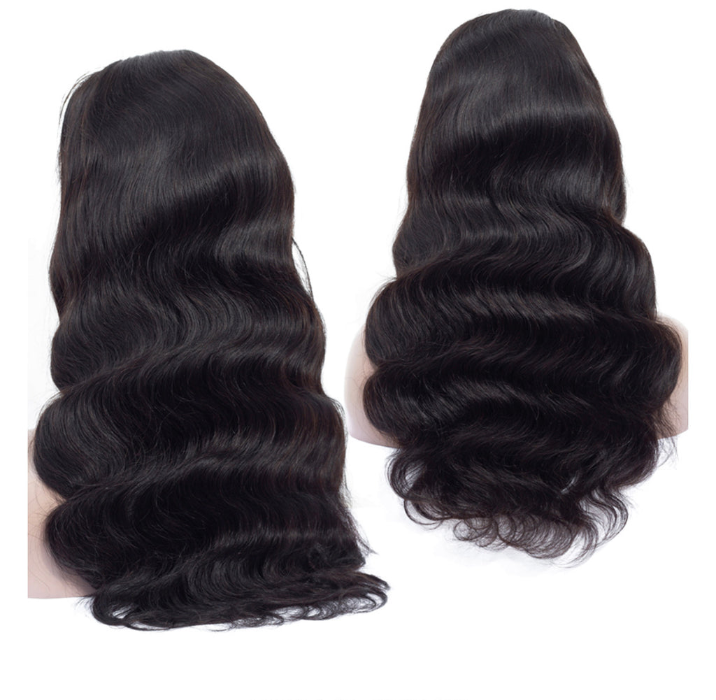 4x4 Body Wave Closure Wig | Pre Plucked With Baby Hairs | 180 % Density