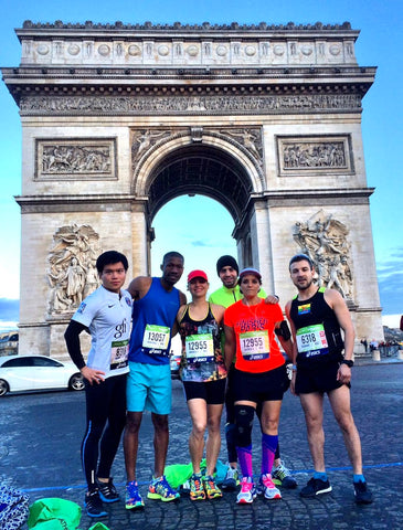 A running tour in Paris is worth a try