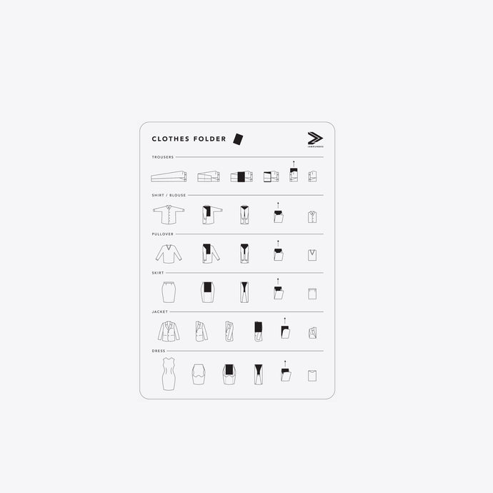 Clothes Folder - IAMRUNBOX