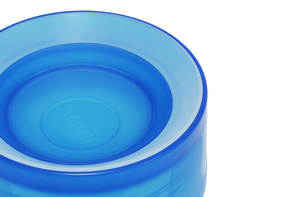 product shot of litecup. valve detail to show cup rim.