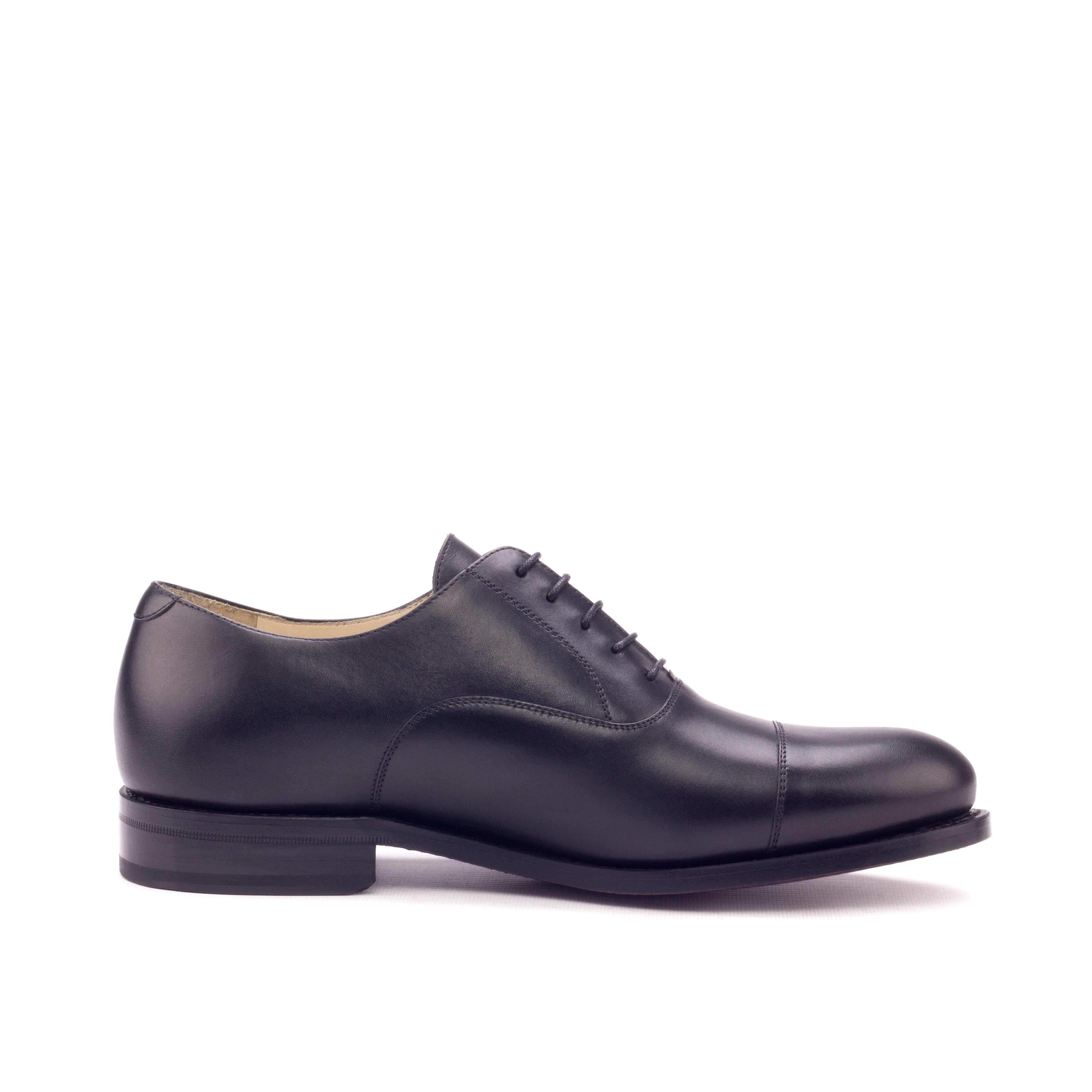 Goodyear welted black Oxfords