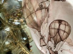 Vintage Hot Air Balloons ~ Victorian Balloon Parade
