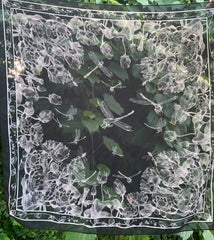 Night Water Lillies Scarf