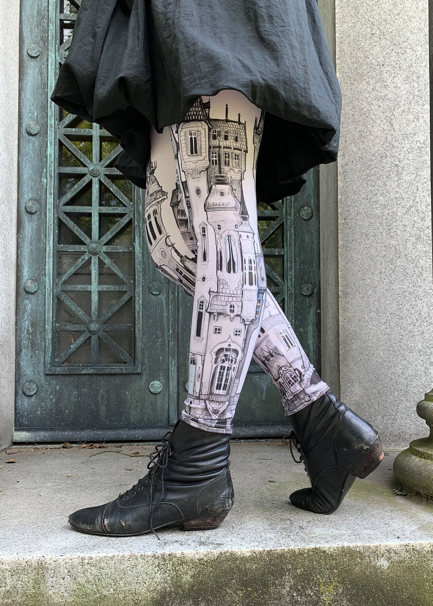 Victorian City Leggings  ~ Day Zeppelin