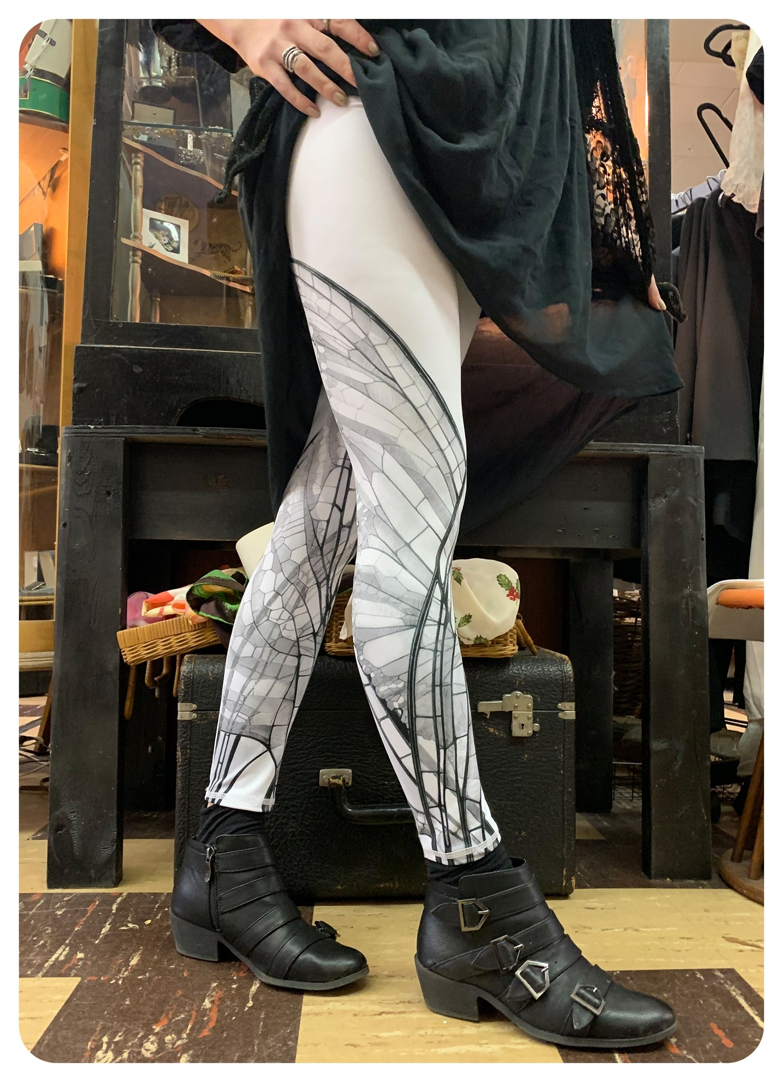 Faetopia  ~ Light Fairy Wing Leggings